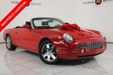 2003 Ford Thunderbird for sale at INDY'S UNLIMITED MOTORS - UNLIMITED MOTORS in Westfield IN