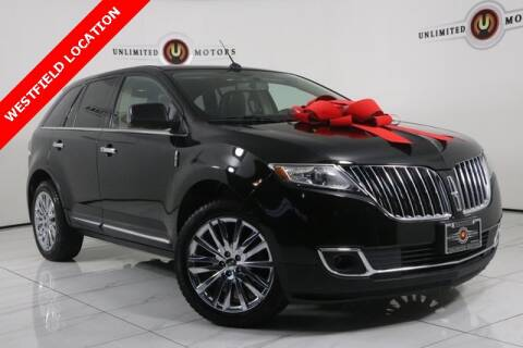 2011 Lincoln MKX for sale at INDY'S UNLIMITED MOTORS - UNLIMITED MOTORS in Westfield IN