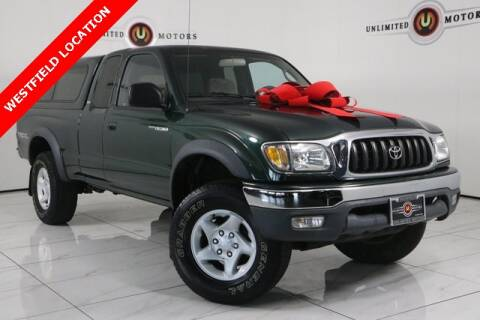 2002 Toyota Tacoma for sale at INDY'S UNLIMITED MOTORS - UNLIMITED MOTORS in Westfield IN