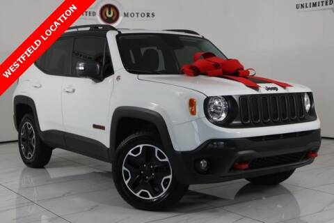 2017 Jeep Renegade for sale at INDY'S UNLIMITED MOTORS - UNLIMITED MOTORS in Westfield IN