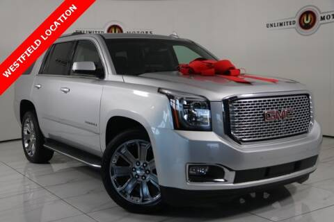 2015 GMC Yukon for sale at INDY'S UNLIMITED MOTORS - UNLIMITED MOTORS in Westfield IN