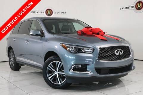 2018 Infiniti QX60 for sale at INDY'S UNLIMITED MOTORS - UNLIMITED MOTORS in Westfield IN
