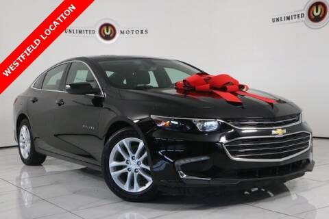 2018 Chevrolet Malibu for sale at INDY'S UNLIMITED MOTORS - UNLIMITED MOTORS in Westfield IN