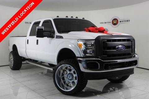 2015 Ford F-250 Super Duty for sale at INDY'S UNLIMITED MOTORS - UNLIMITED MOTORS in Westfield IN