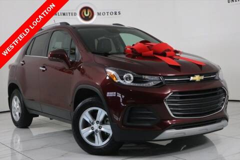 2017 Chevrolet Trax for sale at INDY'S UNLIMITED MOTORS - UNLIMITED MOTORS in Westfield IN