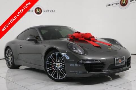 2014 Porsche 911 for sale at INDY'S UNLIMITED MOTORS - UNLIMITED MOTORS in Westfield IN