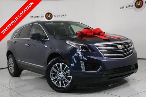2018 Cadillac XT5 for sale at INDY'S UNLIMITED MOTORS - UNLIMITED MOTORS in Westfield IN