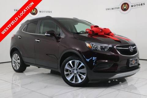 2017 Buick Encore for sale at INDY'S UNLIMITED MOTORS - UNLIMITED MOTORS in Westfield IN
