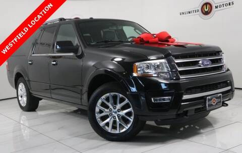 2015 Ford Expedition EL for sale at INDY'S UNLIMITED MOTORS - UNLIMITED MOTORS in Westfield IN