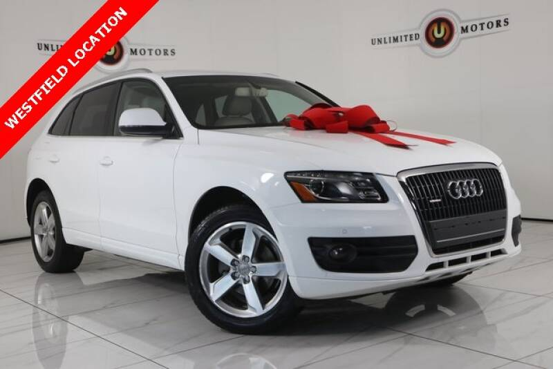 2012 Audi Q5 for sale at INDY'S UNLIMITED MOTORS - UNLIMITED MOTORS in Westfield IN