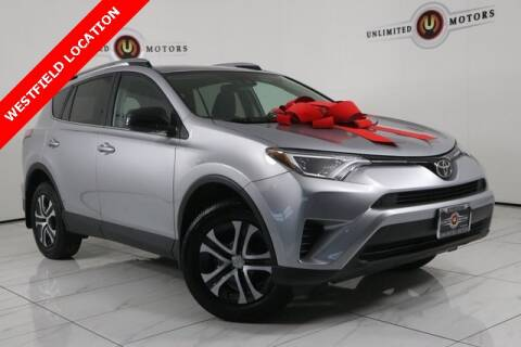 2017 Toyota RAV4 for sale at INDY'S UNLIMITED MOTORS - UNLIMITED MOTORS in Westfield IN