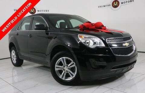 2014 Chevrolet Equinox for sale at INDY'S UNLIMITED MOTORS - UNLIMITED MOTORS in Westfield IN