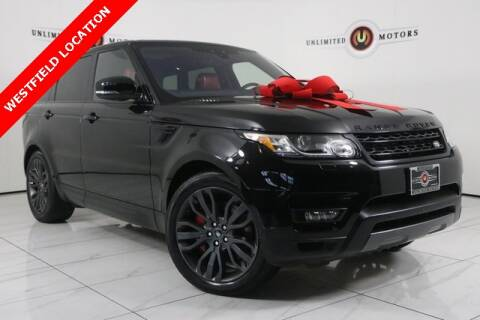 2017 Land Rover Range Rover Sport for sale at INDY'S UNLIMITED MOTORS - UNLIMITED MOTORS in Westfield IN