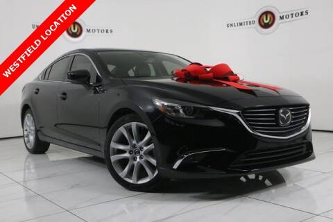 2017 Mazda MAZDA6 for sale at INDY'S UNLIMITED MOTORS - UNLIMITED MOTORS in Westfield IN