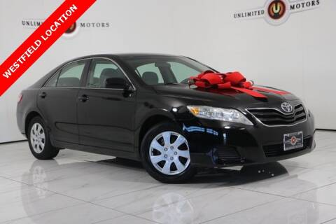2010 Toyota Camry for sale at INDY'S UNLIMITED MOTORS - UNLIMITED MOTORS in Westfield IN
