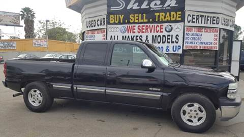 2002 Chevrolet Silverado 1500 for sale at Shick Automotive Inc in North Hills CA