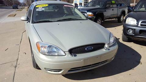 2005 Ford Taurus for sale at MT PLEASANT MOTORS in Mt Pleasant IA