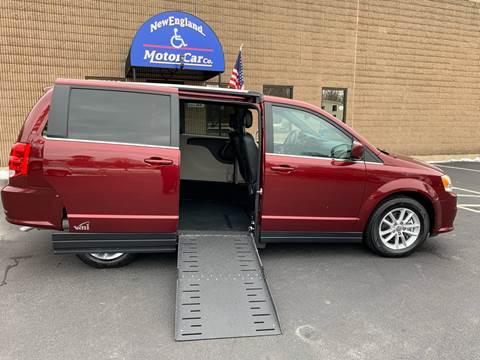 2019 Dodge Grand Caravan SXT for sale at New England Motor Car Company in Hudson NH