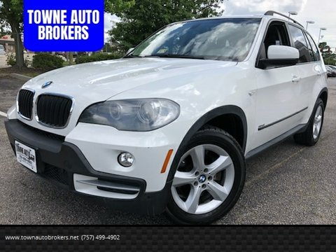 2008 BMW X5 for sale at TOWNE AUTO BROKERS in Virginia Beach VA