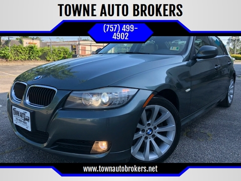 2011 BMW 3 Series for sale at TOWNE AUTO BROKERS in Virginia Beach VA