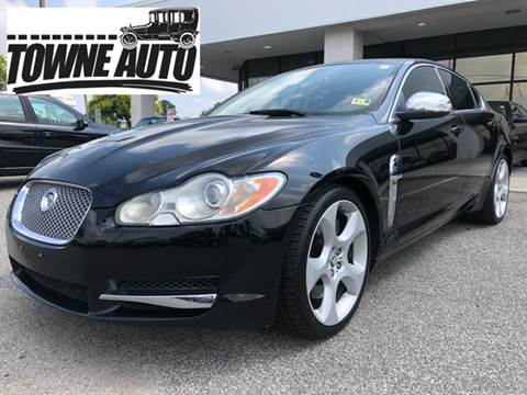 2009 Jaguar XF for sale at TOWNE AUTO BROKERS in Virginia Beach VA