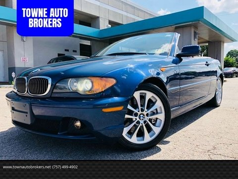 2004 BMW 3 Series for sale at TOWNE AUTO BROKERS in Virginia Beach VA