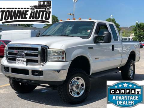 2005 Ford F-250 Super Duty for sale at TOWNE AUTO BROKERS in Virginia Beach VA