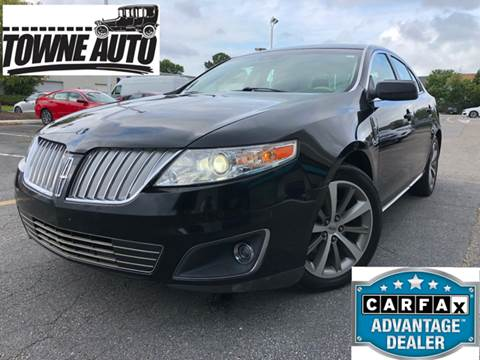 2011 Lincoln MKS for sale at TOWNE AUTO BROKERS in Virginia Beach VA