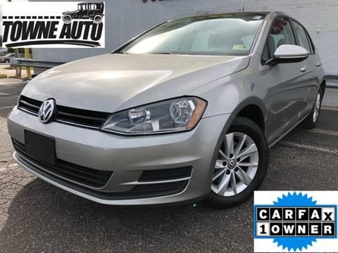 2015 Volkswagen Golf for sale at TOWNE AUTO BROKERS in Virginia Beach VA