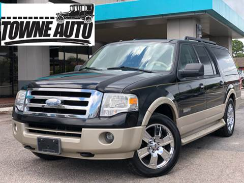 2007 Ford Expedition EL for sale at TOWNE AUTO BROKERS in Virginia Beach VA