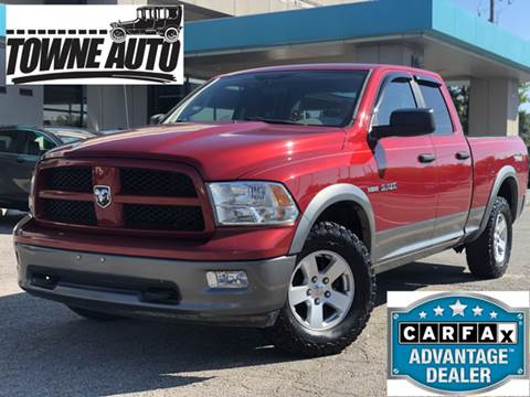 2010 Dodge Ram Pickup 1500 for sale at TOWNE AUTO BROKERS in Virginia Beach VA