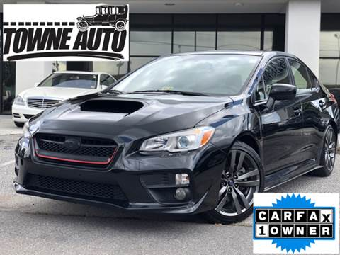 2017 Subaru WRX for sale at TOWNE AUTO BROKERS in Virginia Beach VA
