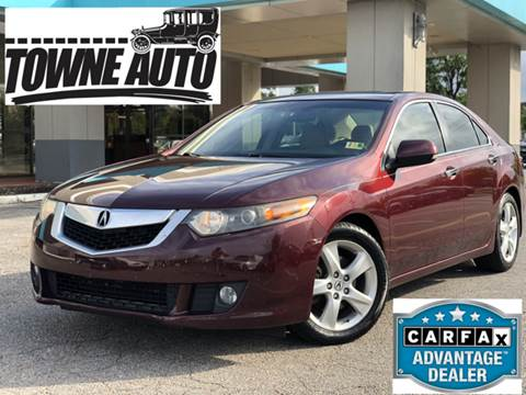 2010 Acura TSX for sale at TOWNE AUTO BROKERS in Virginia Beach VA