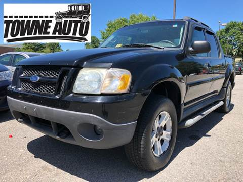 2005 Ford Explorer Sport Trac for sale at TOWNE AUTO BROKERS in Virginia Beach VA