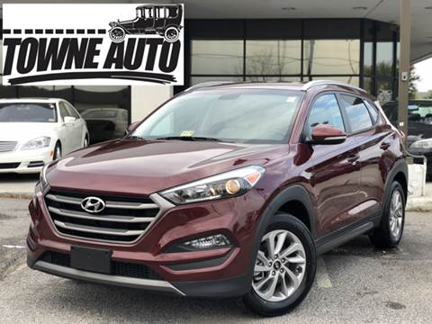 2016 Hyundai Tucson for sale at TOWNE AUTO BROKERS in Virginia Beach VA