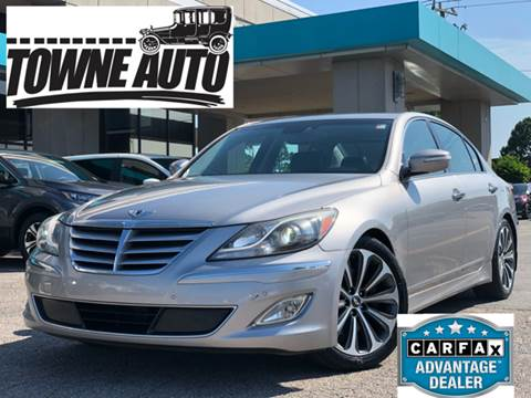 2013 Hyundai Genesis for sale at TOWNE AUTO BROKERS in Virginia Beach VA