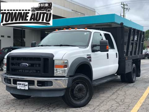 2008 Ford F-550 for sale at TOWNE AUTO BROKERS in Virginia Beach VA