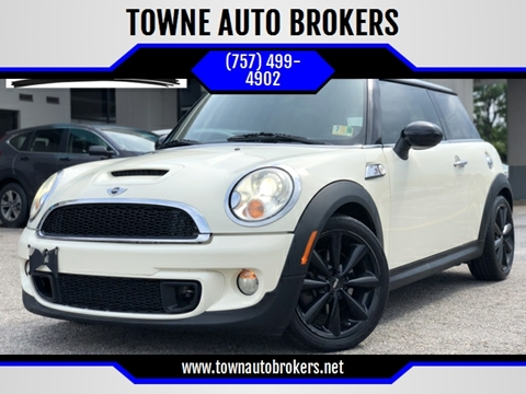 2011 MINI Cooper for sale at TOWNE AUTO BROKERS in Virginia Beach VA