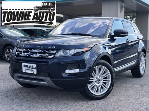 2013 Land Rover Range Rover Evoque for sale at TOWNE AUTO BROKERS in Virginia Beach VA