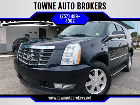 2009 Cadillac Escalade for sale at TOWNE AUTO BROKERS in Virginia Beach VA