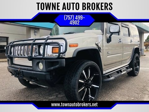 2003 HUMMER H2 for sale at TOWNE AUTO BROKERS in Virginia Beach VA