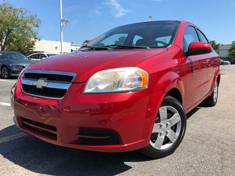 2010 Chevrolet Aveo for sale at TOWNE AUTO BROKERS in Virginia Beach VA