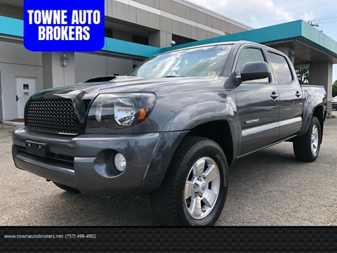 2011 Toyota Tacoma for sale at TOWNE AUTO BROKERS in Virginia Beach VA