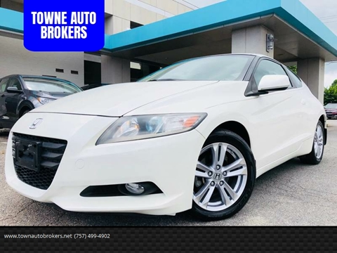 2011 Honda CR-Z for sale at TOWNE AUTO BROKERS in Virginia Beach VA