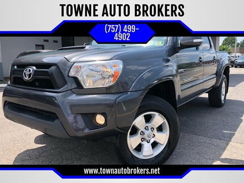 2015 Toyota Tacoma for sale at TOWNE AUTO BROKERS in Virginia Beach VA