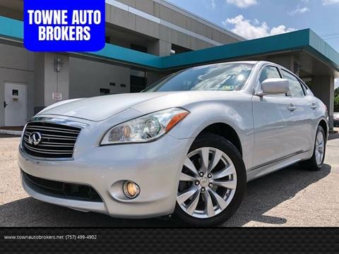 2011 Infiniti M37 For Sale In Virginia Carsforsale