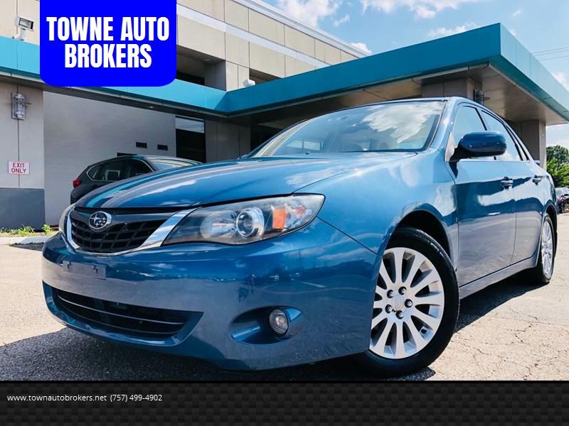 2008 Subaru Impreza for sale at TOWNE AUTO BROKERS in Virginia Beach VA