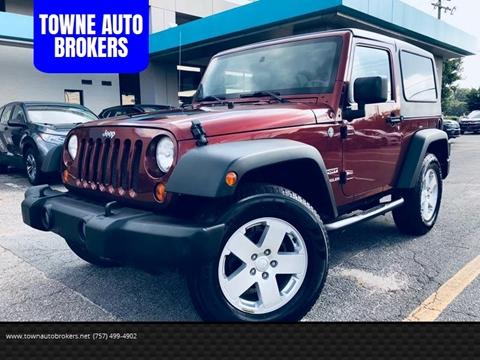 2010 Jeep Wrangler for sale at TOWNE AUTO BROKERS in Virginia Beach VA