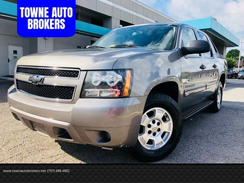 2009 Chevrolet Avalanche for sale at TOWNE AUTO BROKERS in Virginia Beach VA