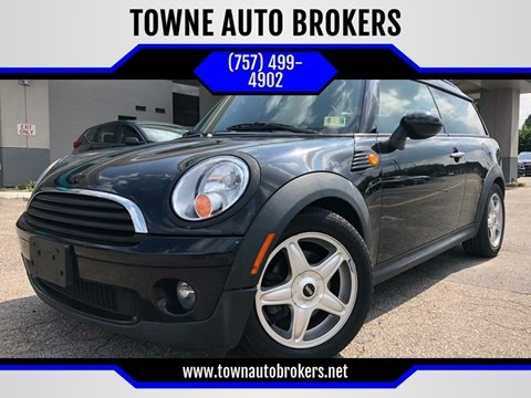 2009 MINI Cooper Clubman for sale at TOWNE AUTO BROKERS in Virginia Beach VA